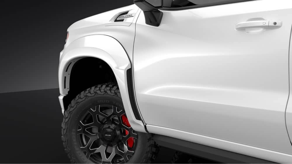 Active Air Front Fender Flare System