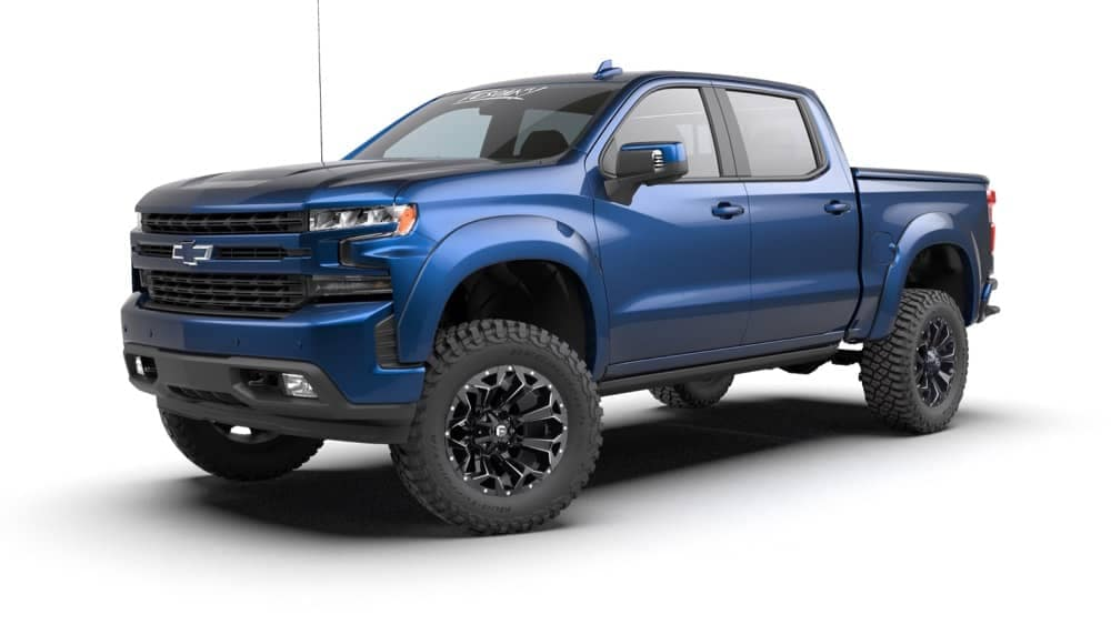 Blue Truck ZRX Front