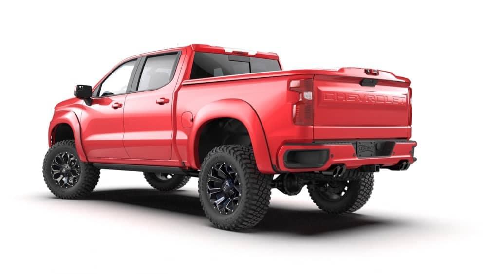 Red Truck ZRX Rear