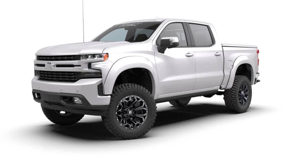 White Truck ZRX Front