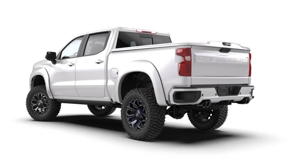 White Truck ZRX Rear