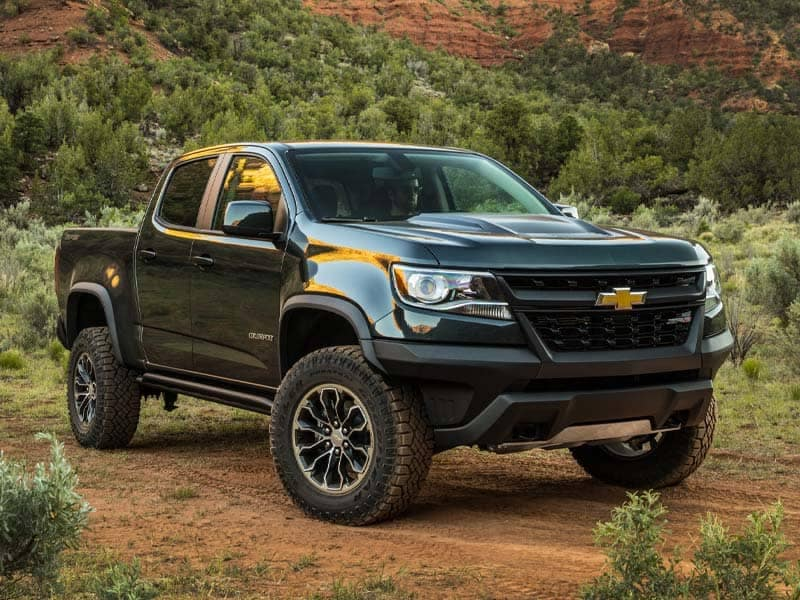 2021 Chevrolet Colorado Styling