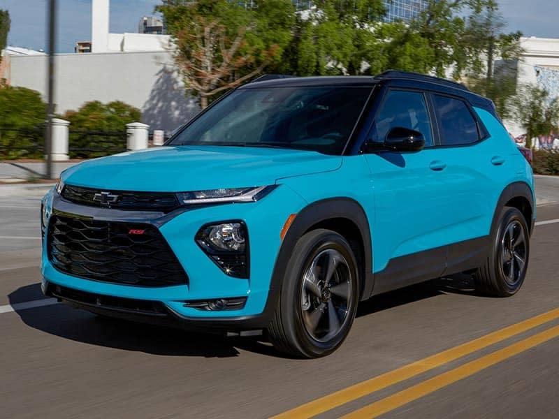 2021 Chevrolet Trailblazer engines and performance