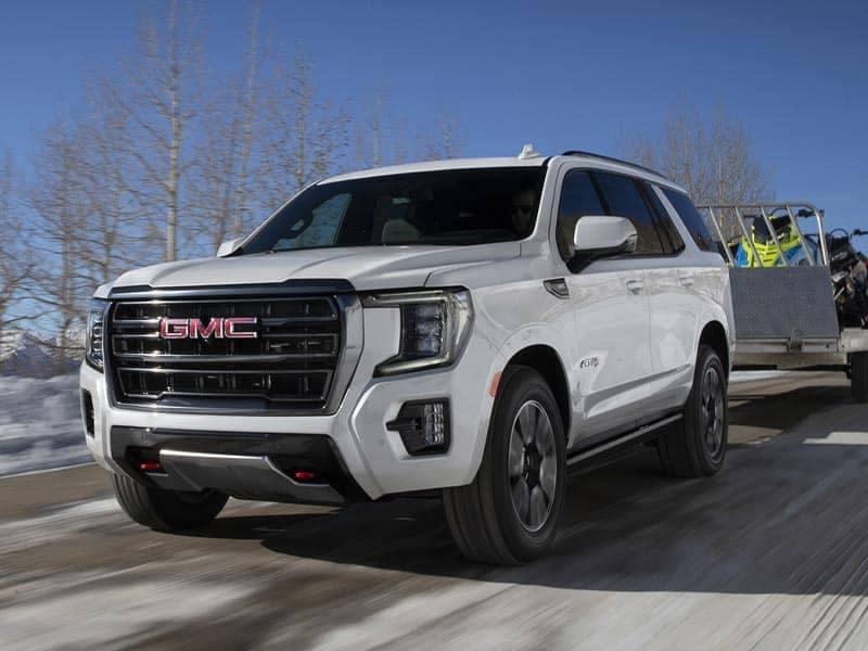 2021 GMC Yukon engines and performance