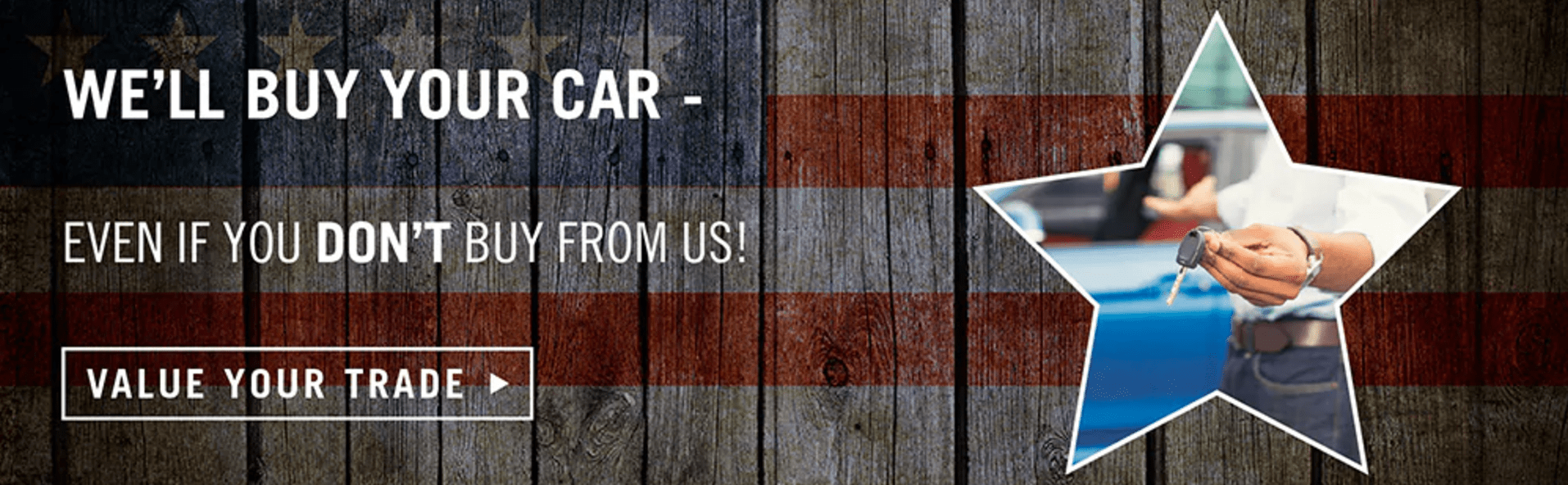 We Will Buy Your Car | Southtown Chrysler Dodge Jeep Ram