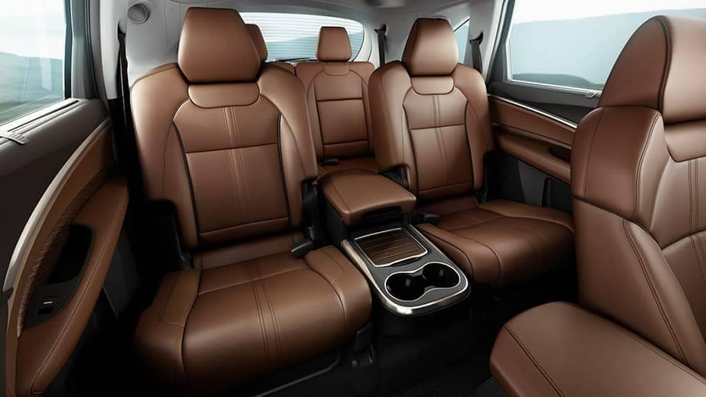 2020-Acura MDX interior seating