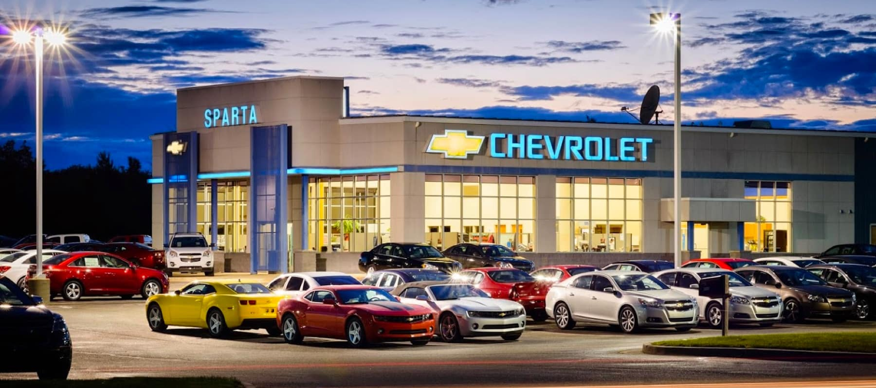 Sparta Chevrolet Store Front