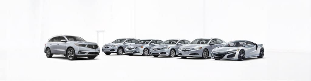 Acura Lineup