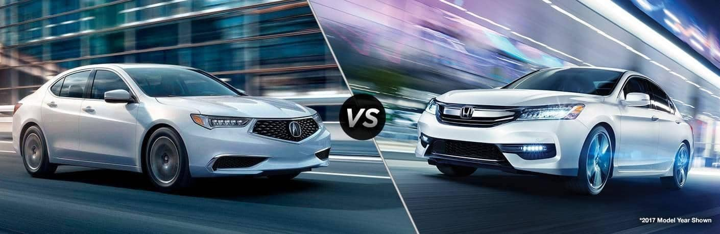 Acura TLX vs Honda Accord