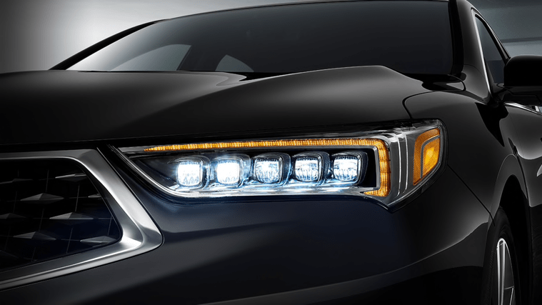 TLX headlight