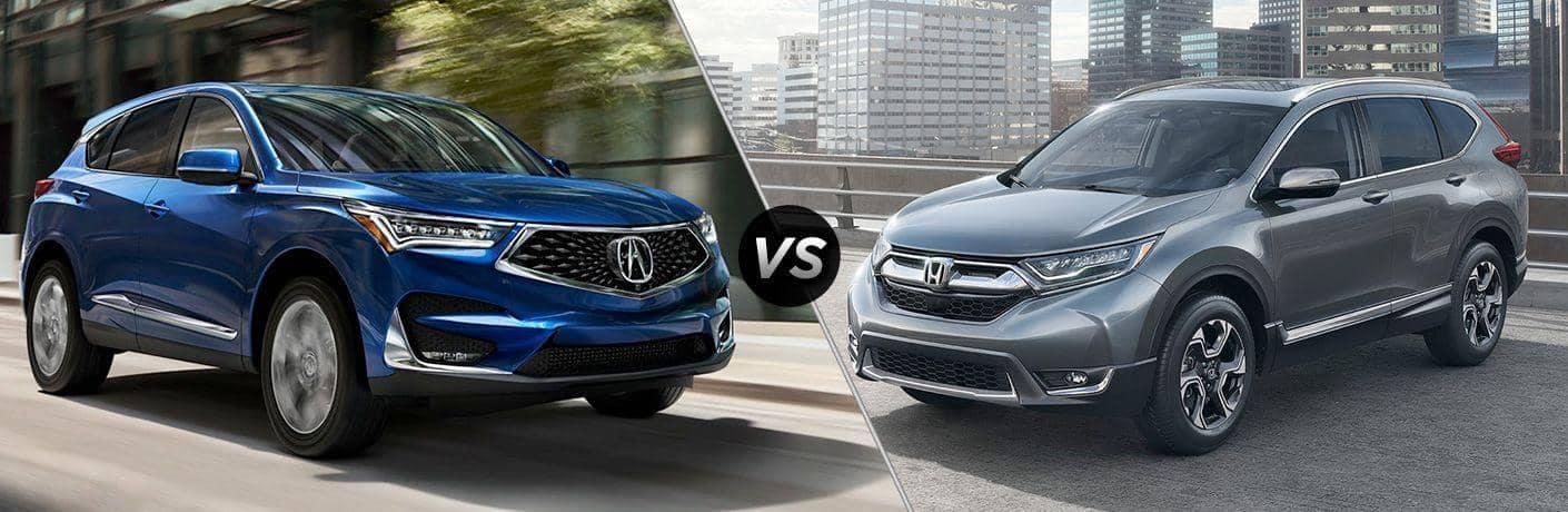 Acura RDX vs Honda CR-V