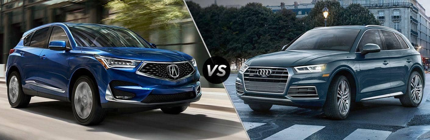 RDX vs Audi Q5