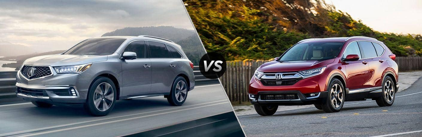 Acura MDX VS Honda CRV