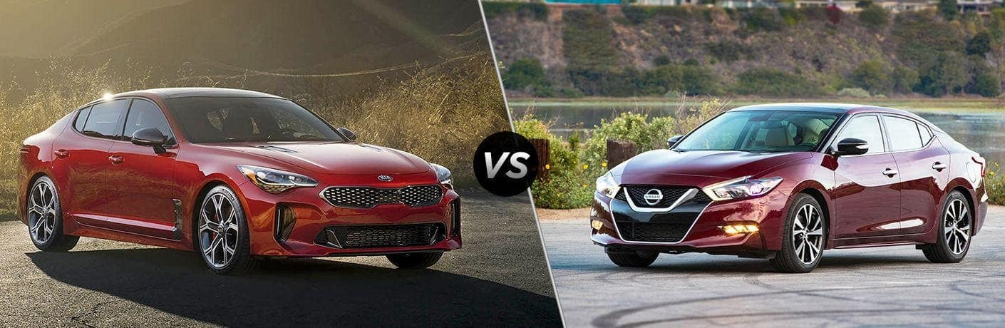 2018 Kia Stinger 2018 Nissan Maxima