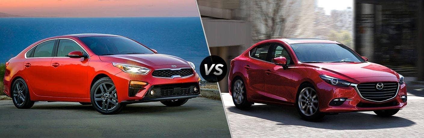 2019 Kia Forte vs. 2019 Mazda3
