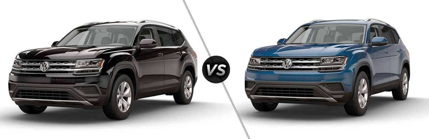 2018 VW Atlas S vs 2018 VW Atlas Launch Edition