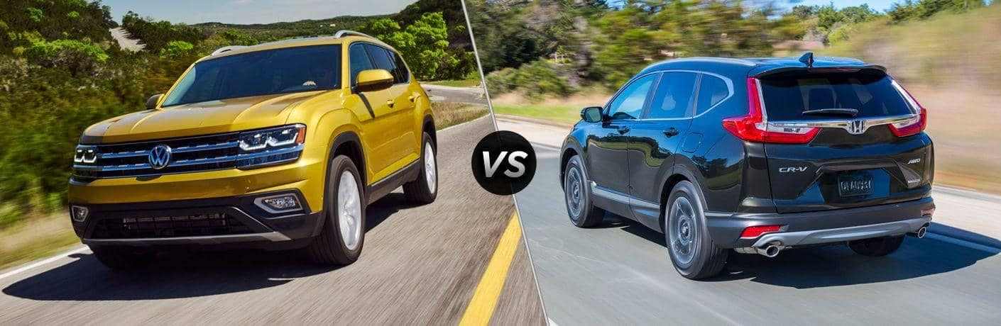 2018 Volkswagen Atlas vs 2018 Honda CR-V
