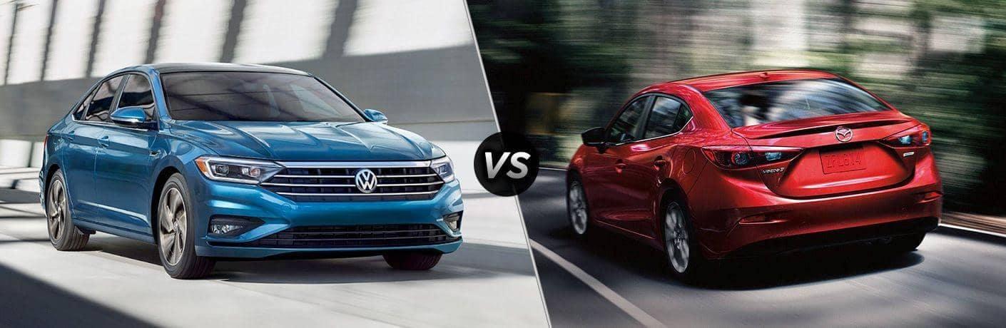 2019 Volkswagen Jetta vs. 2019 Mazda3