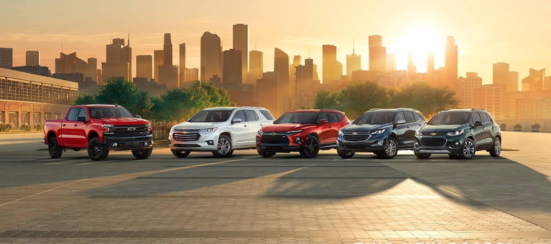 Chevrolet model lineup.