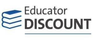 educator discount banner