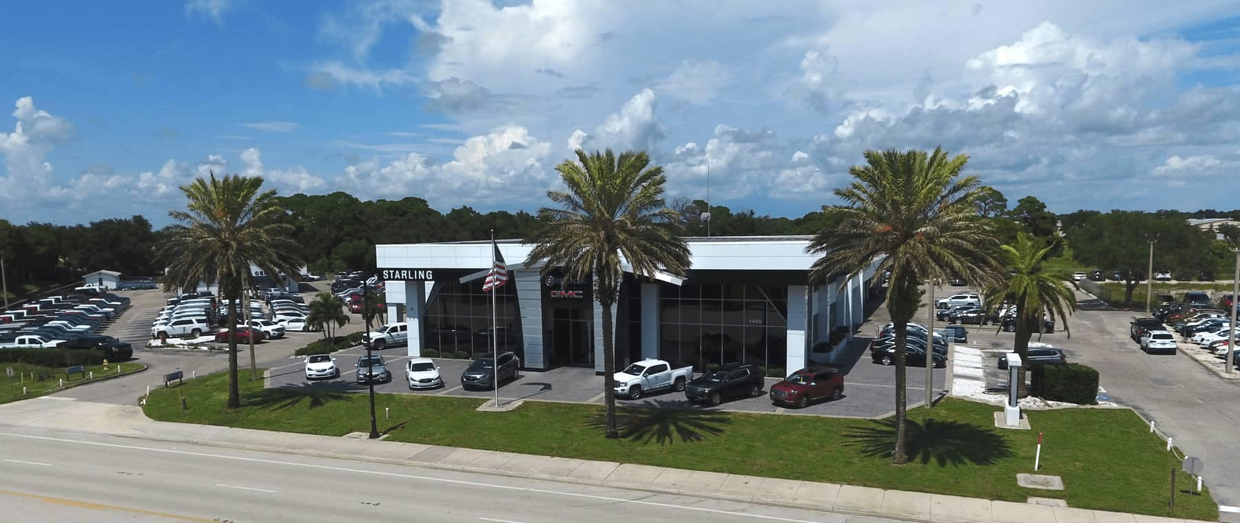 Starling Buick elevated dealership shot 1800x760