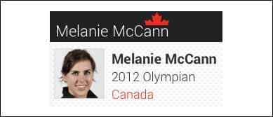 Melanie-tile
