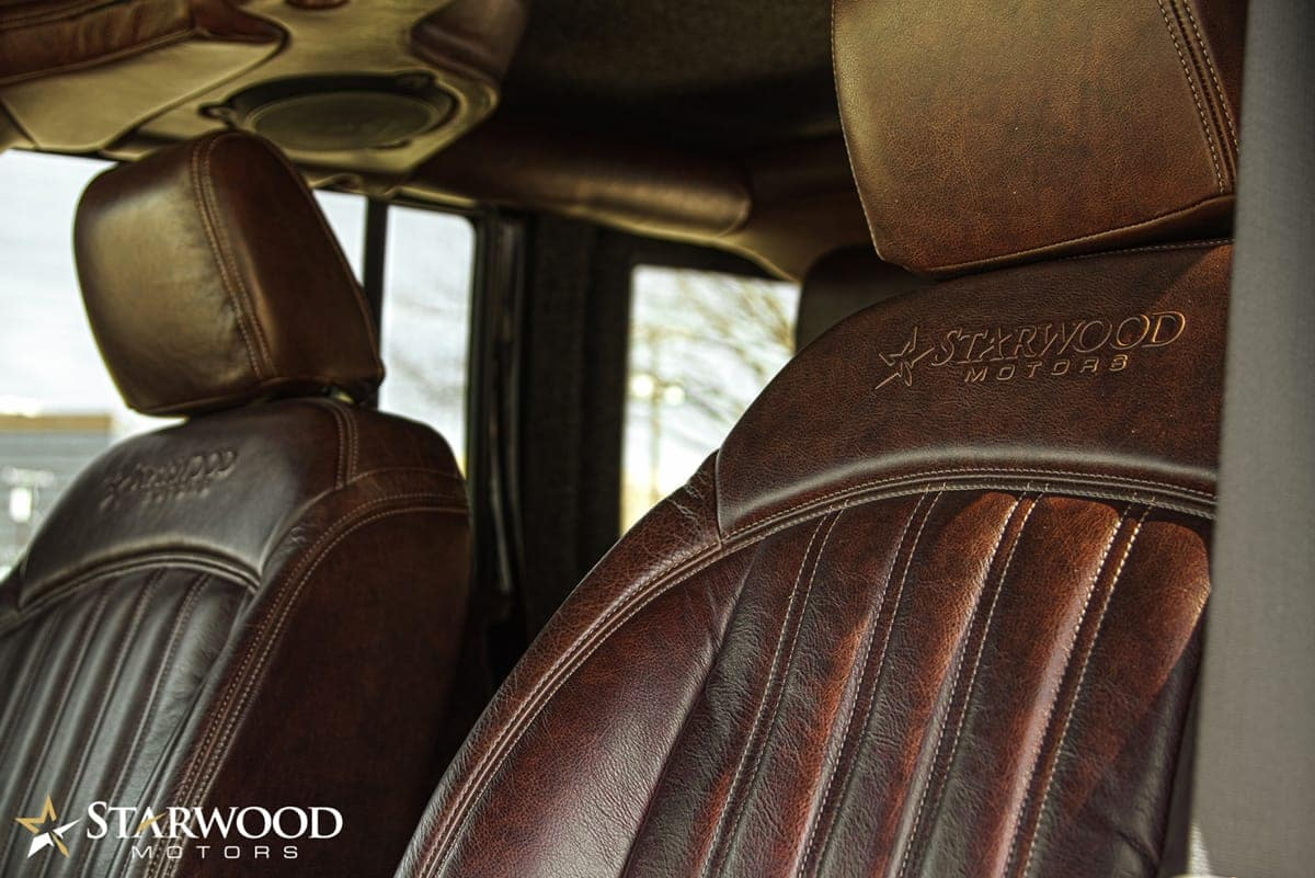 Interior Vehicle Customization Starwood Motors