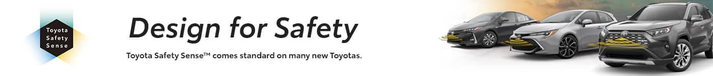 Toyota Safety Sense banner