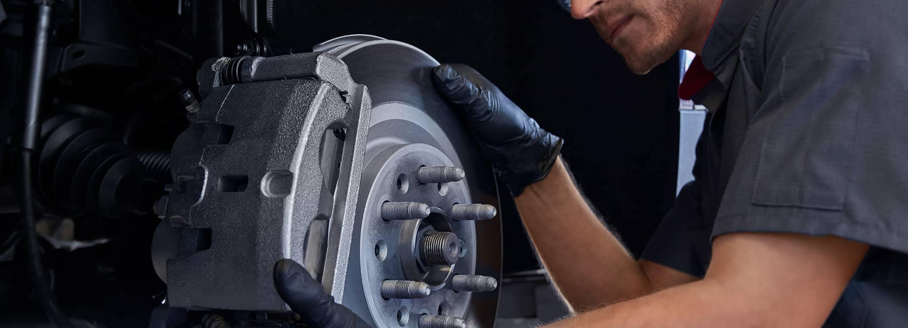 Cadillac Brakes being changed