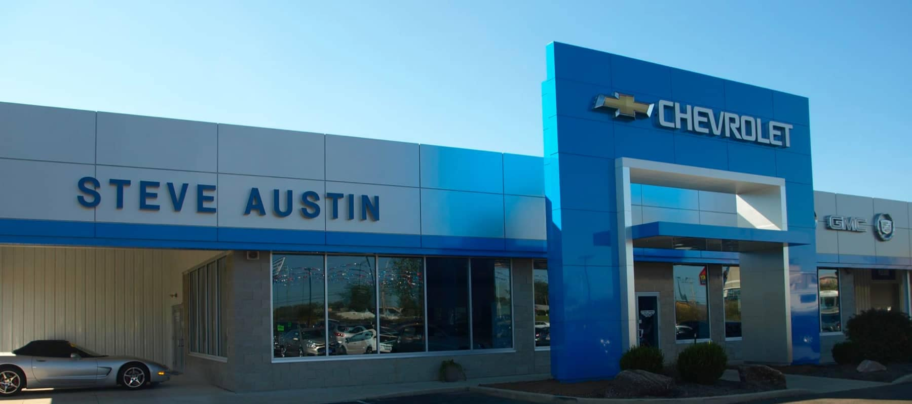 Steve Austin's dealership building