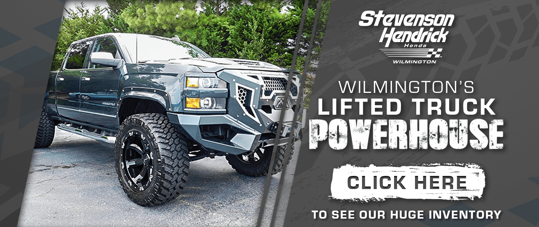 Wilmington's Lifted Truck promotion