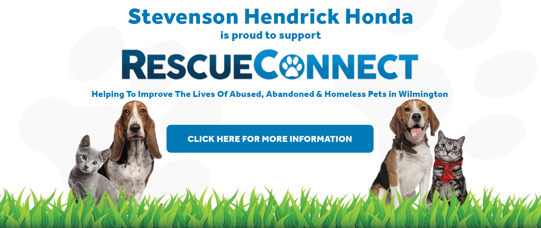 Stevenson Hendrick Honda supports Rescue Connect