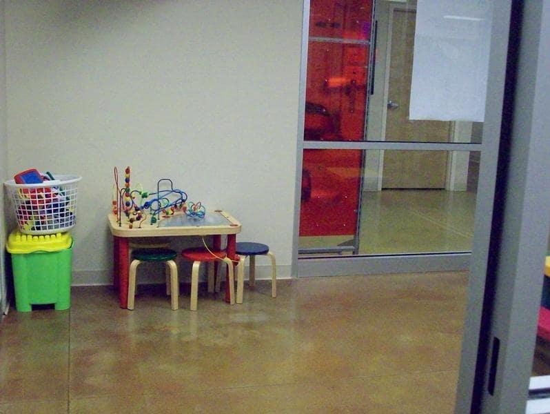 Kids Friendly Waiting Area