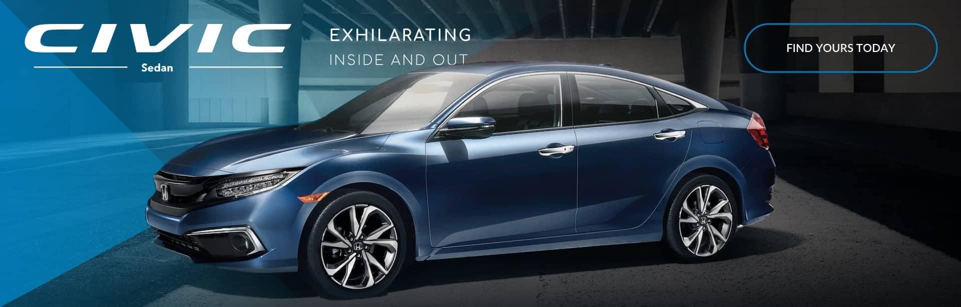 Honda Civic sedan exhilarating inside and out