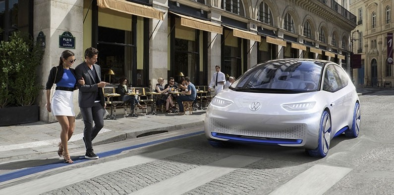 All-Electric Volkswagen I.D.