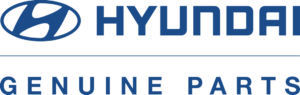 official Hyundai parts logo