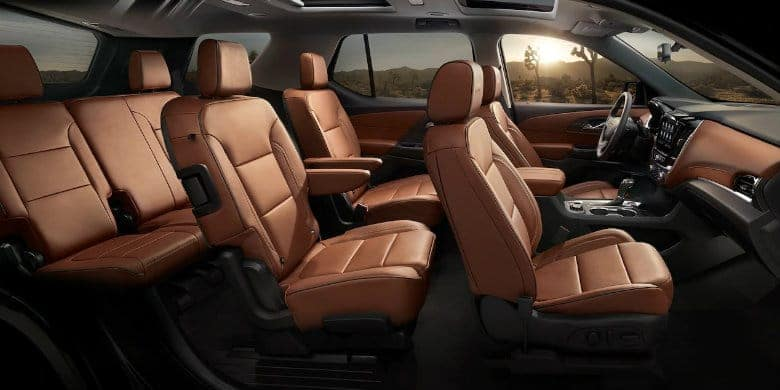 Chevy Traverse seating