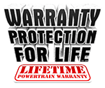 Warranty Protection for Life logo