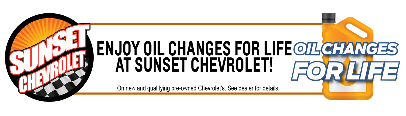 Oil Changes for life banner