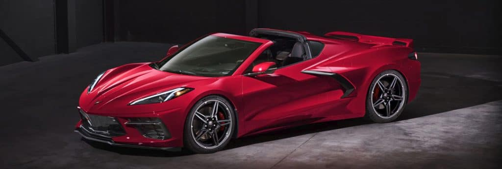 2020 red chevrolet corvette