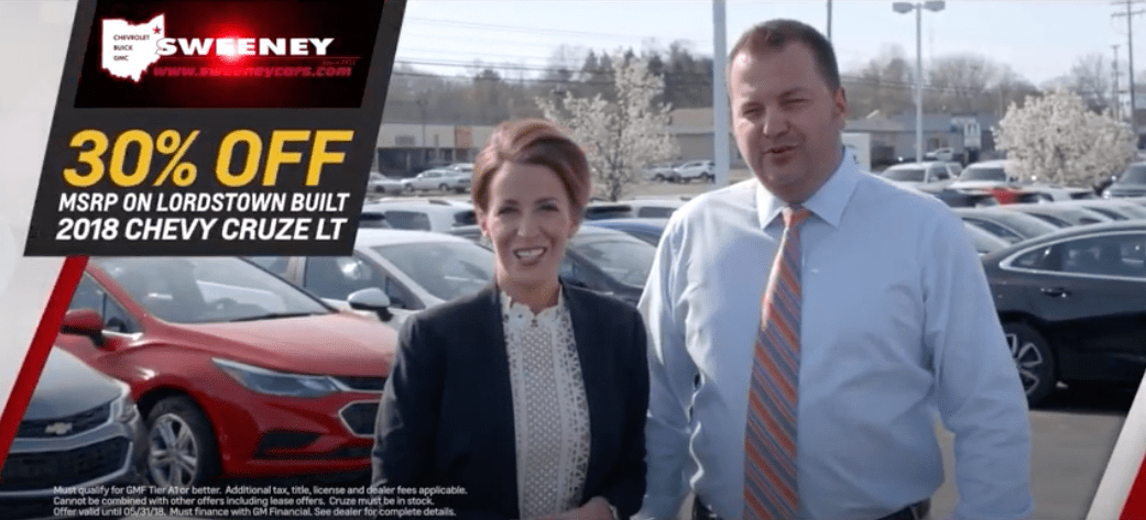 2020 Sweeny Chevorlet Christmas Commercial Current Ads   Sweeney Chevrolet