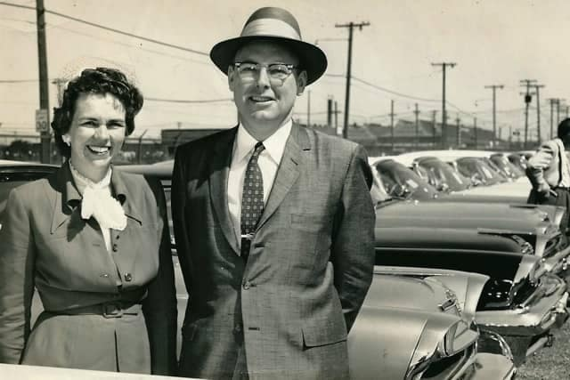 Bill & Betty on lot