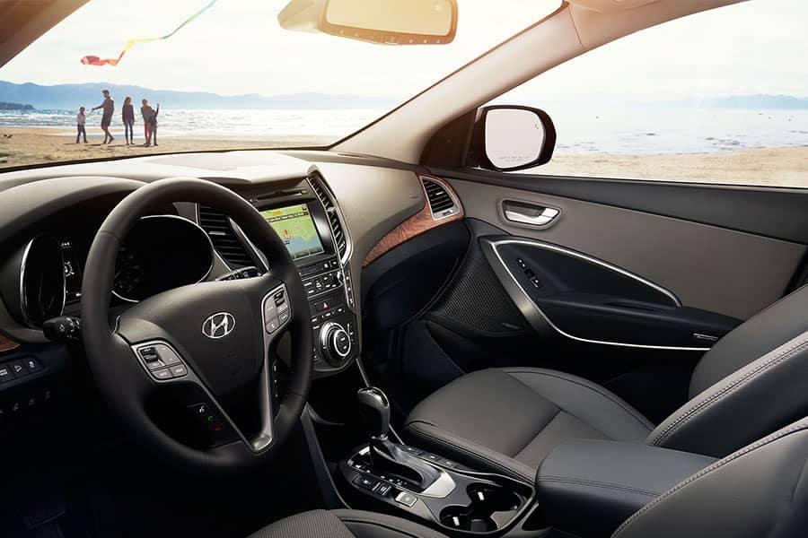 2018-Hyundai-Santa-Fe-Interior