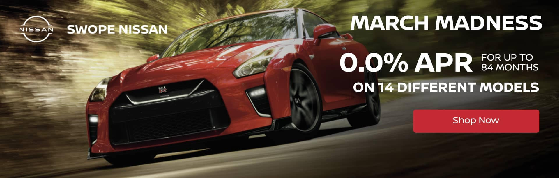 March Madness Deal - 0.0% APR for up to 84 Months on 14 different models