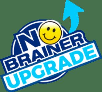No Brainer Upgrade Logo