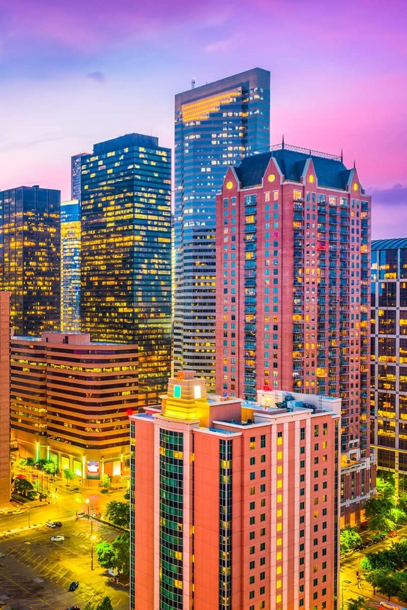 Houston Skyline SEO Image