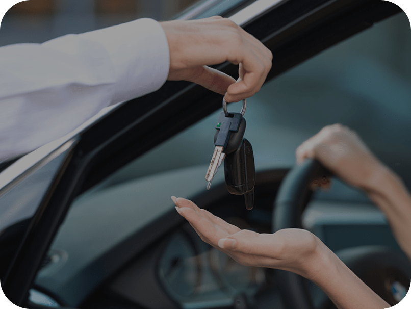 Keys being handed over - finance cta image