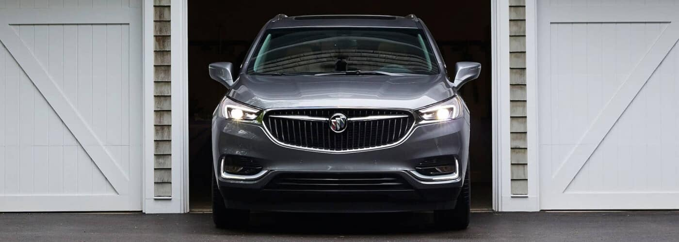 2019 Buick Model Pulling Out of Garage