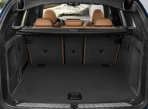 2020 BMW X3 cargo space