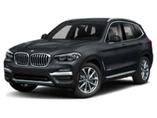 2020 BMW x3 M40i black angled